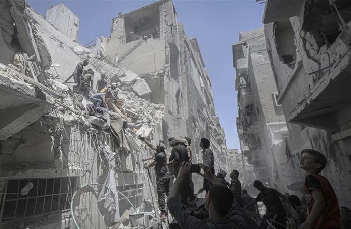 Suriye'den kanlı haberler: Son bir ayda 416 ölüm