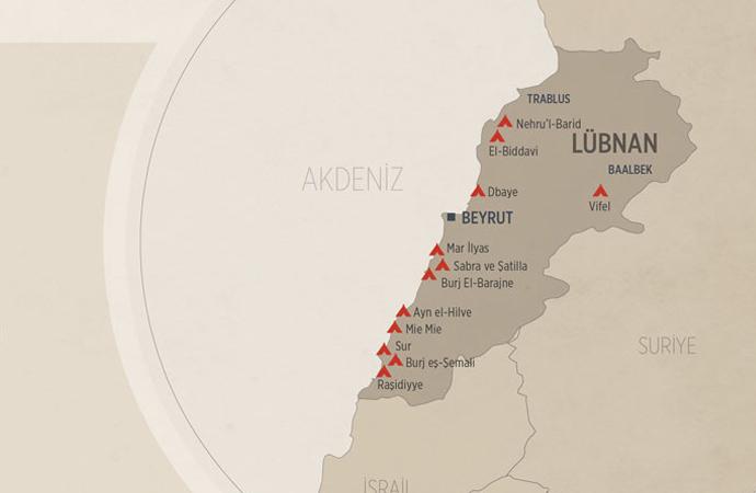 Lübnan'da Filistinli mültecileri öfkelendiren adım