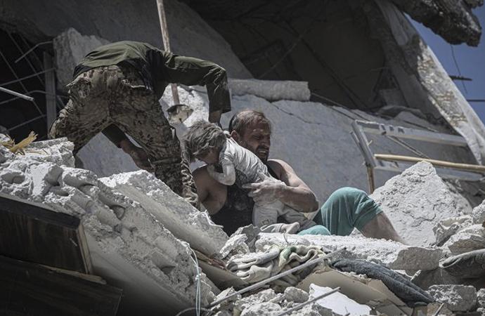 İdlib'de nisan ayından bu yana en kanlı hafta