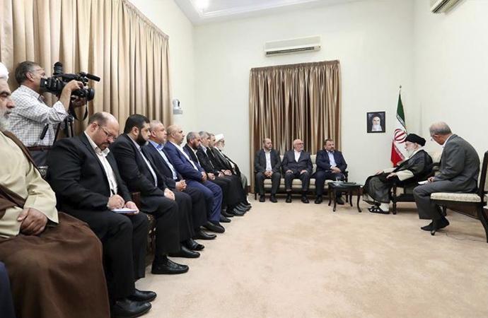 Hamas'ın İran ziyareti