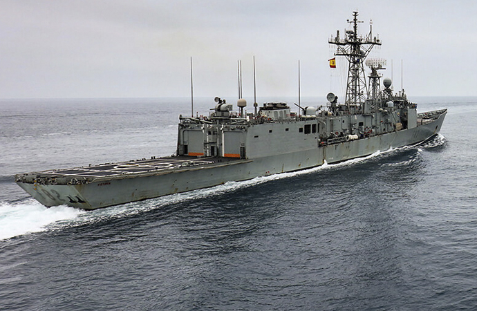 İngiliz savaş gemisi Hürmüz boğazında