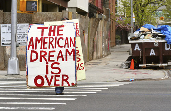 """""""Tarihin sonu"""", Amerikan rüyasının sonu?"""