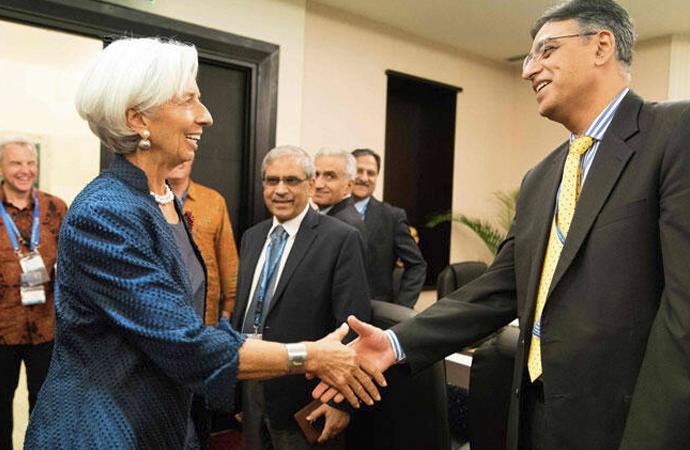 Pakistan'ın 'ekonomik reformu' için IMF'den 6 milyar dolar