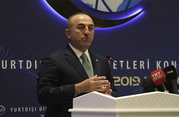 """Çavuşoğlu: """"İslam karşıtlığı bugün bir moda gibi"""""""