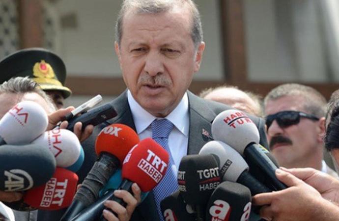 Erdoğan: 'Bizle beraber yürüyen arkadaşlarımız, dava arkadaşımızdır'