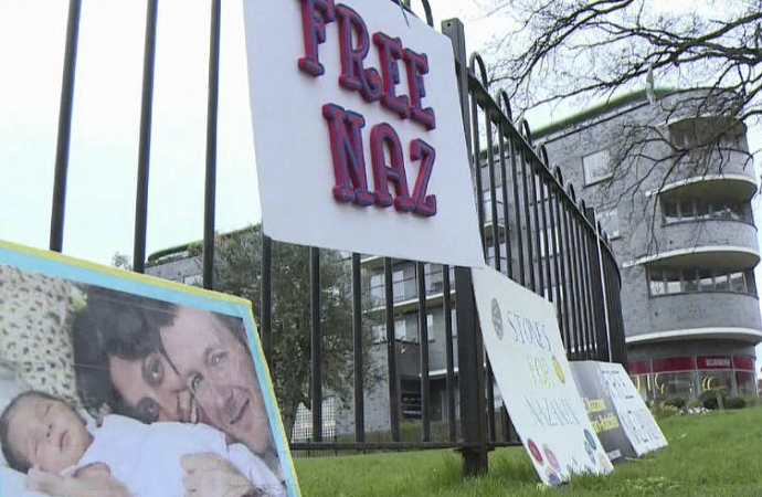 İran'daki İngiliz mahkum açlık grevini bitirdi
