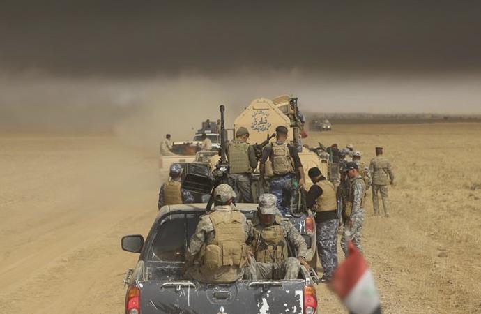 Haşdi Şabi'ye Irak topraklarında saldırı