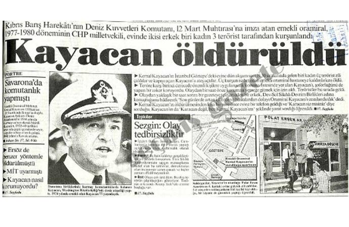 27 yıldır aydınlanmayan suikast