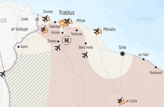 Libya'da savaş devam ediyor