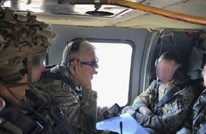 ABD ile Türkiye'den Fırat'ın doğusunda ilk ortak uçuş