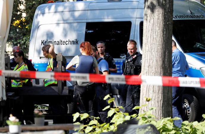 Alman polisi, Çeçen komutanın Berlin'de infaz edilmesini soruşturuyor