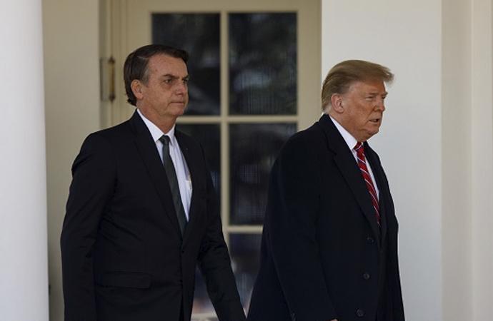 ABD ile Brezilya arasında yeni askeri ilişki