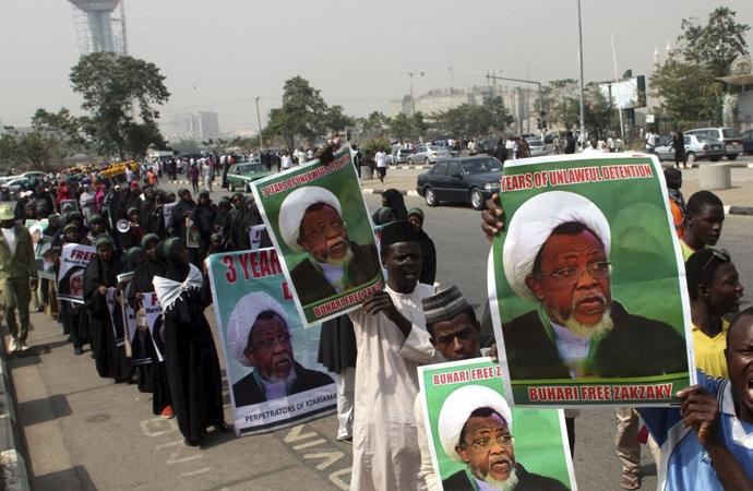 Nijerya İslami Hareketi sokak gösterilerini askıya aldı