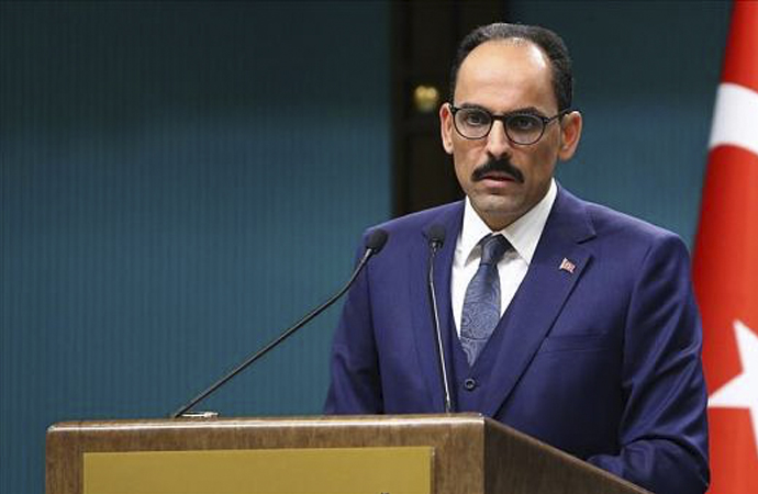 Kalın: 'Güvenli Bölgenin kontrolü Türkiye'de olmalı'