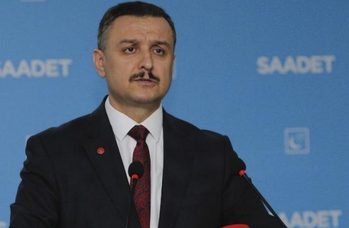 Saadet Partisi: Hedefleri Suriye'yi 4'e bölmek!