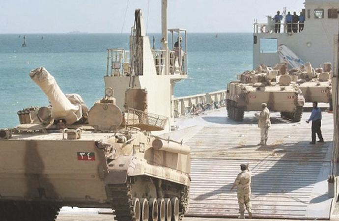 BAE'nin eğittiği askeri birlikler Sokotra Adası'na çıktı