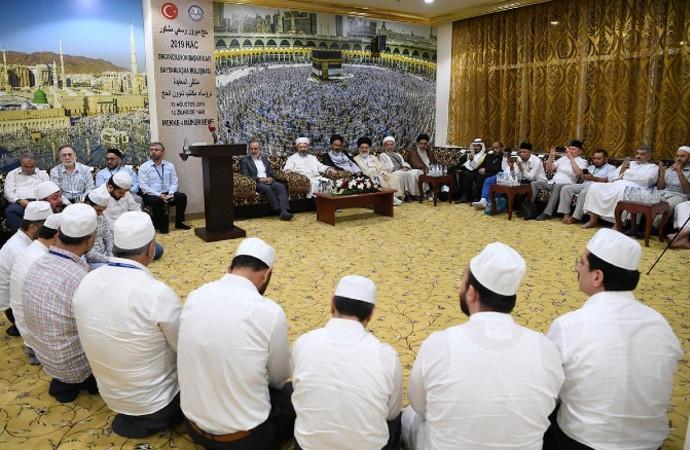 'İslam ülkeleri' temsilcileri bir araya geldi