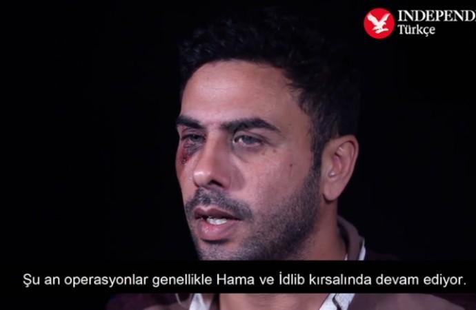 İdlib'de düşürülen uçağın pilotu: Yıkım talimatını Ruslar veriyor
