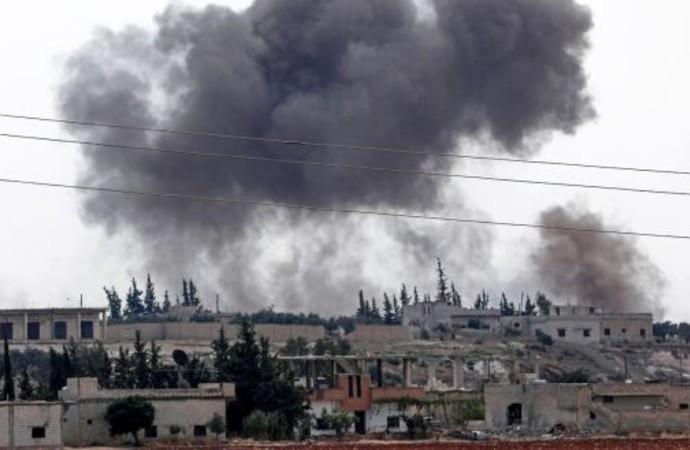 İdlib'e bir günde 1400 bomba