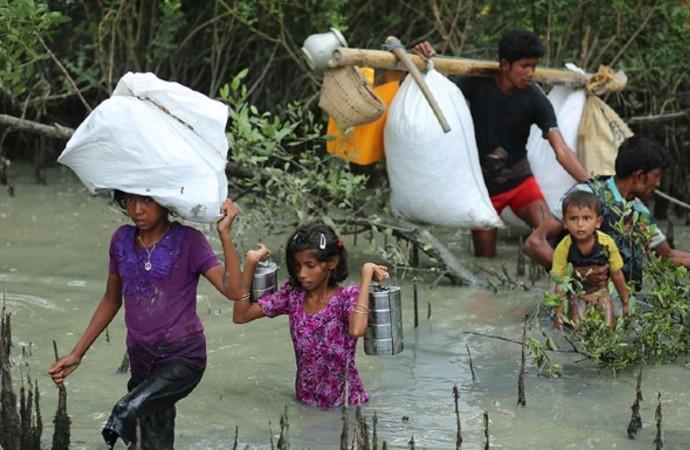 Arakan'da koşulların düzeltilmesi için 'uluslararası yardım' çağrısı