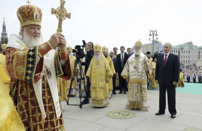 Batı Avrupa Rus Ortodoks Kiliseleri, Moskova'ya bağlandı