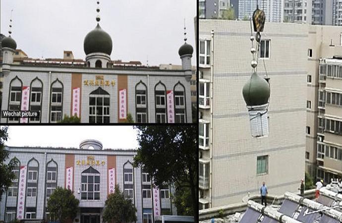 Çin, camii mimarisinde İslami simgeleri kaldırıyor