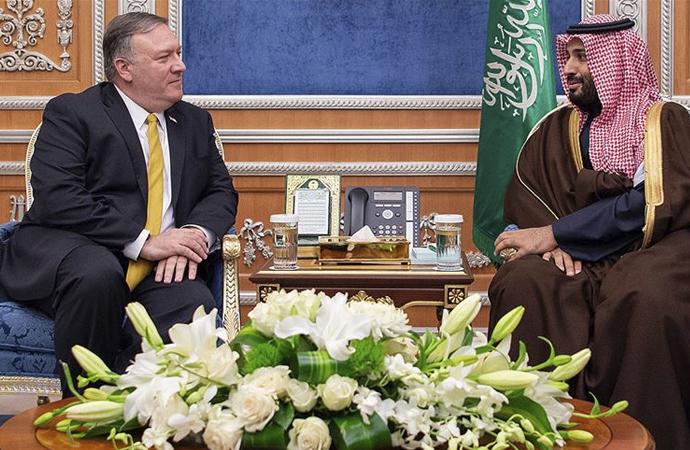 ARAMCO saldırısı sonrası, Amerikalı bakan Arabistan'da