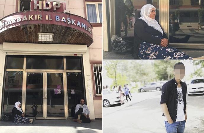 Diyarbakır'da bir anne daha HDP önünde