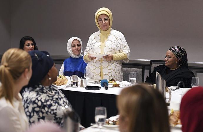 New York'ta 'Müslüman kadınlar' buluşması