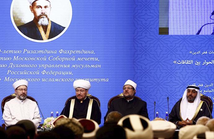 Diyanet İşleri Başkanı Moskova'da