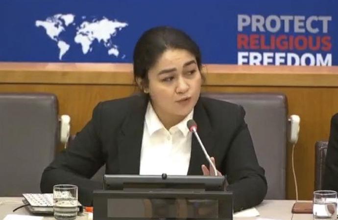 Doğu Türkistan'daki vahşet BM Genel Kurulunda anlatıldı