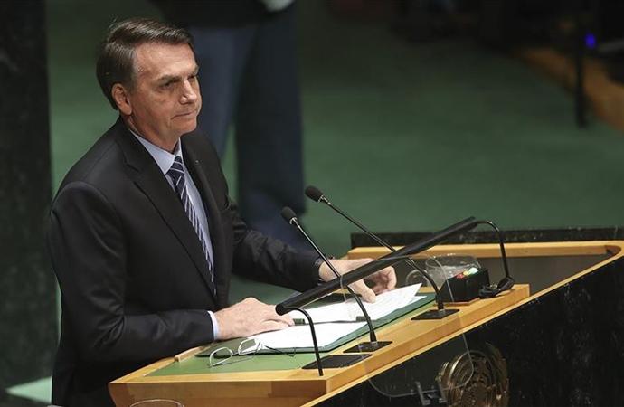 """Bolsonaro: """"Amazonlar'a 'dünyanın akciğeri' demenin anlamı yok"""""""
