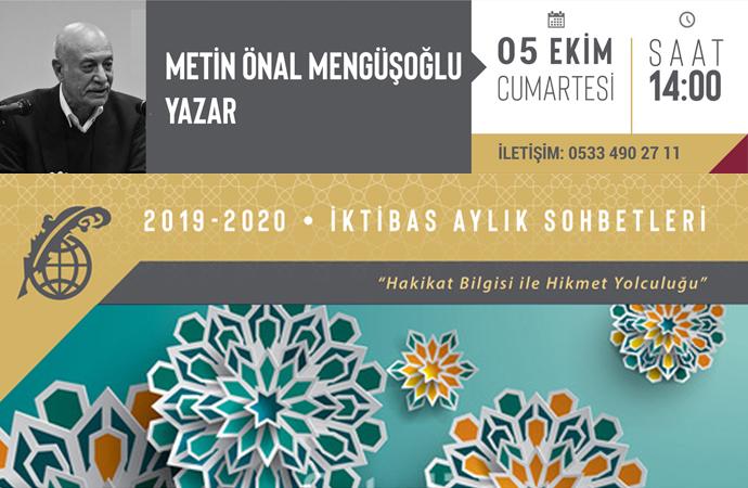 Metin Mengüşoğlu, bugün saat 14'te İktibas'ta