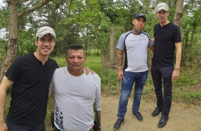 Guaido'nun suç örgütü liderleriyle fotoğrafları