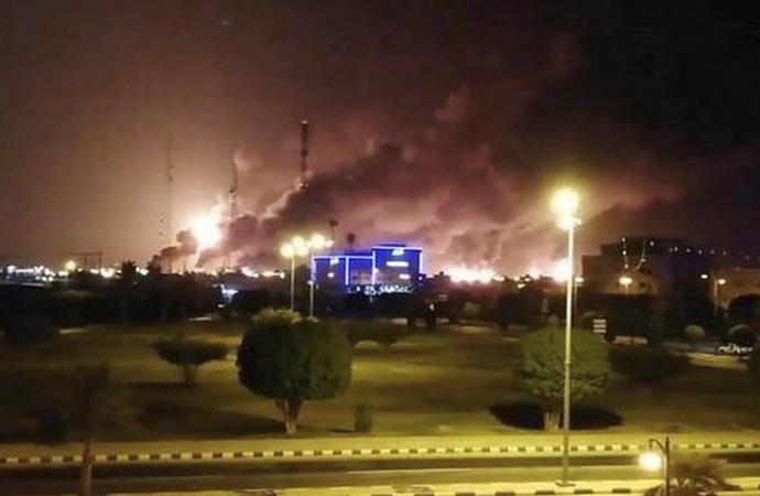 Saudi Aramco saldırısına Arap ülkelerinden kınama