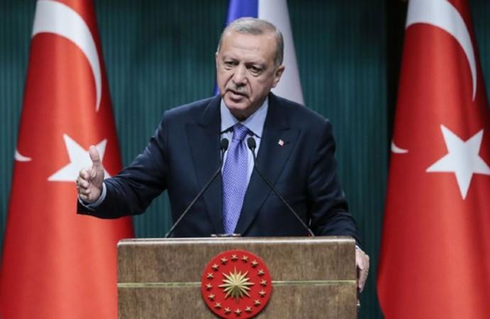 """Erdoğan: """"Şu anda Güvenli Bölge'nin adı kaldı"""""""