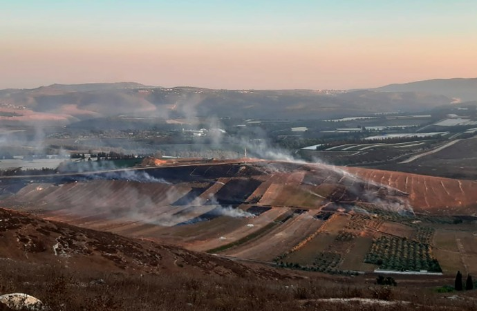 İsrail-Lübnan sınırında çatışma