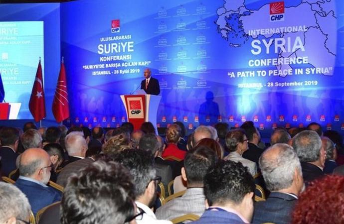 CHP'nin 'Uluslararası Suriye Konferansı'na fazla mı anlam yüklendi?