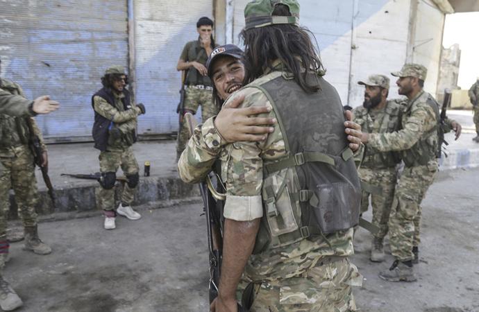 Tel Abyad ilçe merkezi kontrol altına alındı