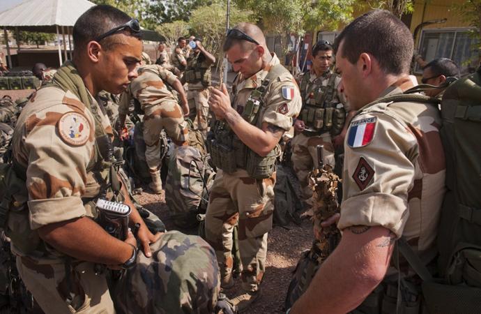 Amerika çekilirken Fransız birlikleri ne yapacak?