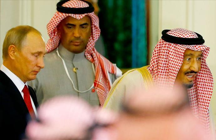 Putin 12 yıl aradan sonra Suudi Arabistan'da