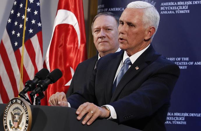 Pence: ABD ile Türkiye anlaştı