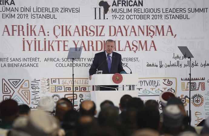 Erdoğan, Müslüman Dini Liderler zirvesinde konuştu