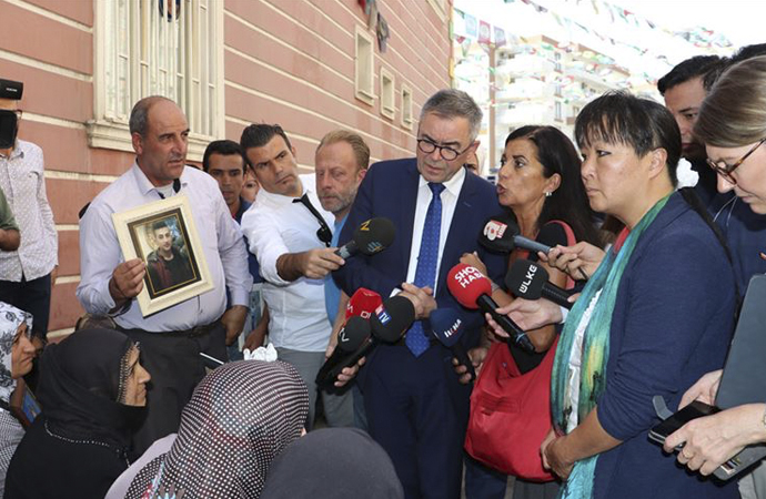 Avrupa Konseyi üyeleri Diyarbakır'da