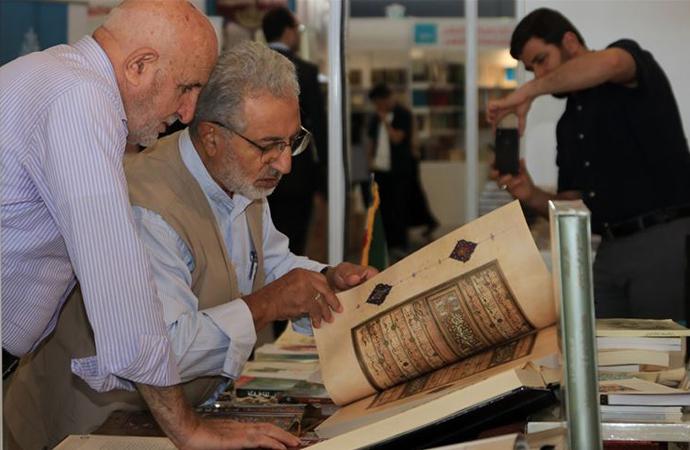 """İstanbul'da düzenlenen """"Arapça Kitap Fuarı"""" 200 yayıncıyı ağırlıyor"""