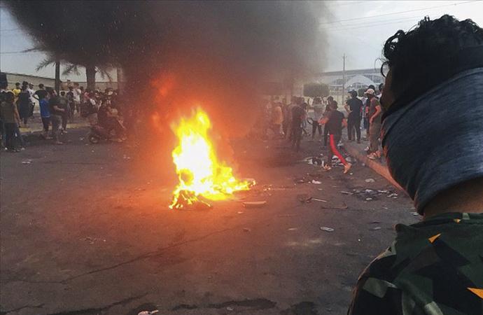 Irak'taki gösterilere 'Erbain törenleri' için ara verildi