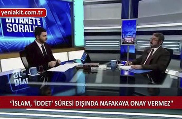 Diyanet'ten nafaka açıklaması: İslam nafakaya iddet süresince müsaade eder