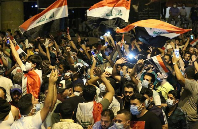 Irak'taki gösterilerde rakamlar ağırlaşıyor