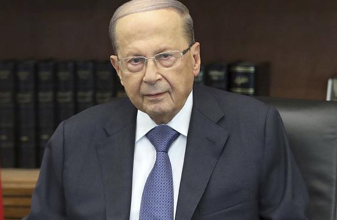 Lübnan Cumhurbaşkanı: 'Beğenmiyorsanız çekin gidin'