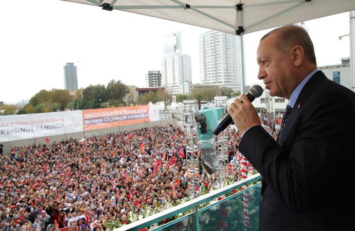 Erdoğan: 'Ayrım yaparsak Allah'a hesap veremeyiz'